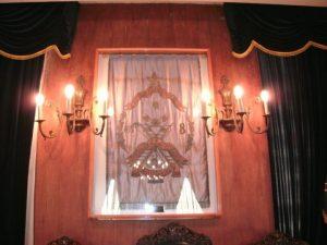 emblema antiguo octava lamparas