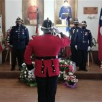 funeral del Voluntario Honorario de la Primera de Melipilla