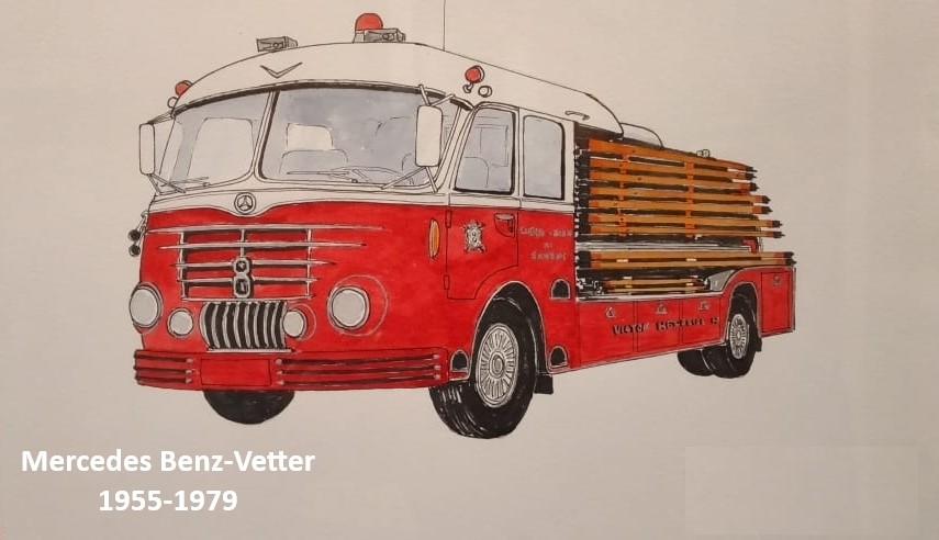 12 Mercedes Benz-Vetter, 1955-1979