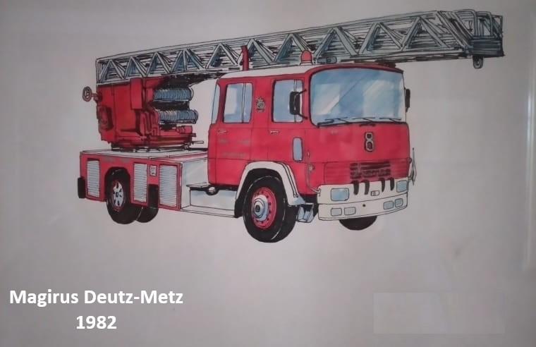 14 Magirus Deutz-Metz, 1982