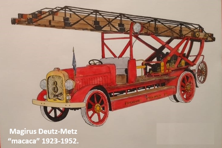 "8 Magirus Deutz-Metz ""macaca"", 1923-1952"